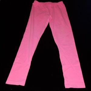 Girls Oshkosh Bright Pink Leggings